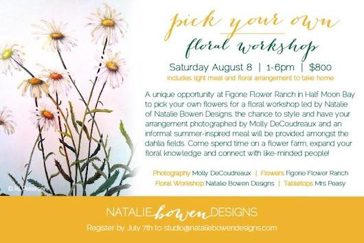 Natalie Bowen Designs Workshop