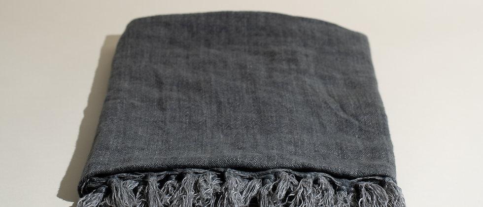 Belgian Linen Throw Blanket