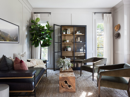 Dallas Project: Entry, Office, + Guest Bedroom Reveal