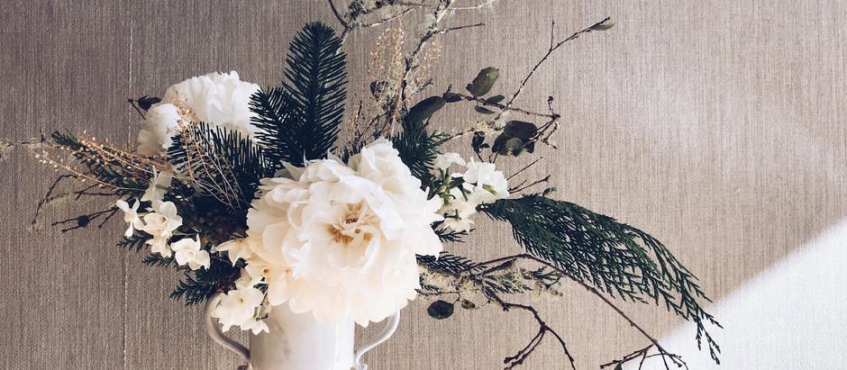 Blooms in Season: Winter Whites