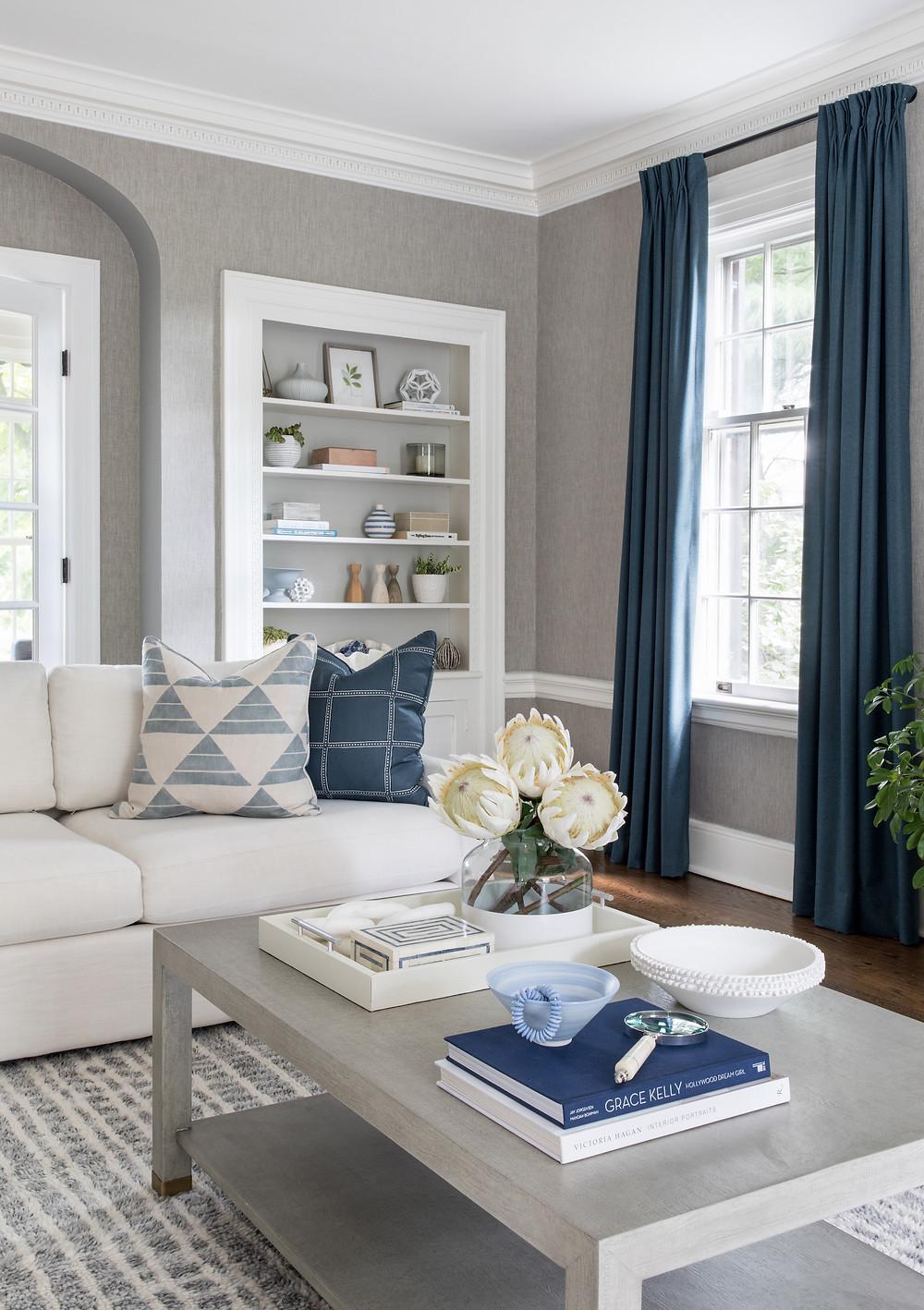 living room by by Britt Design Studio