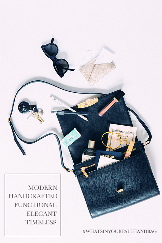What's in Your Fall Handbag | Sacramento Street