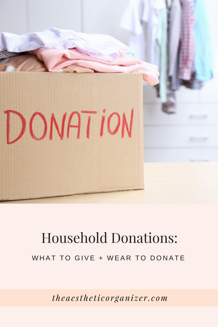 Donations: What to Give + Where to Donate