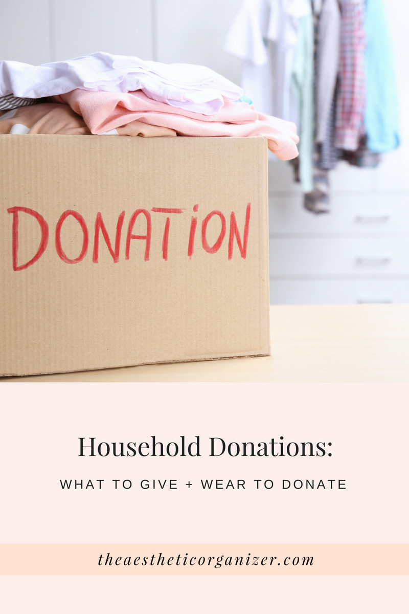 new york city professional organizer explains what to give and where to donate unwanted household items