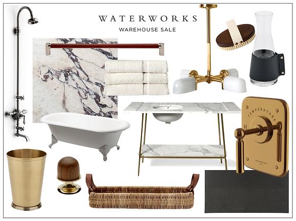 Waterworks Warehouse Sale