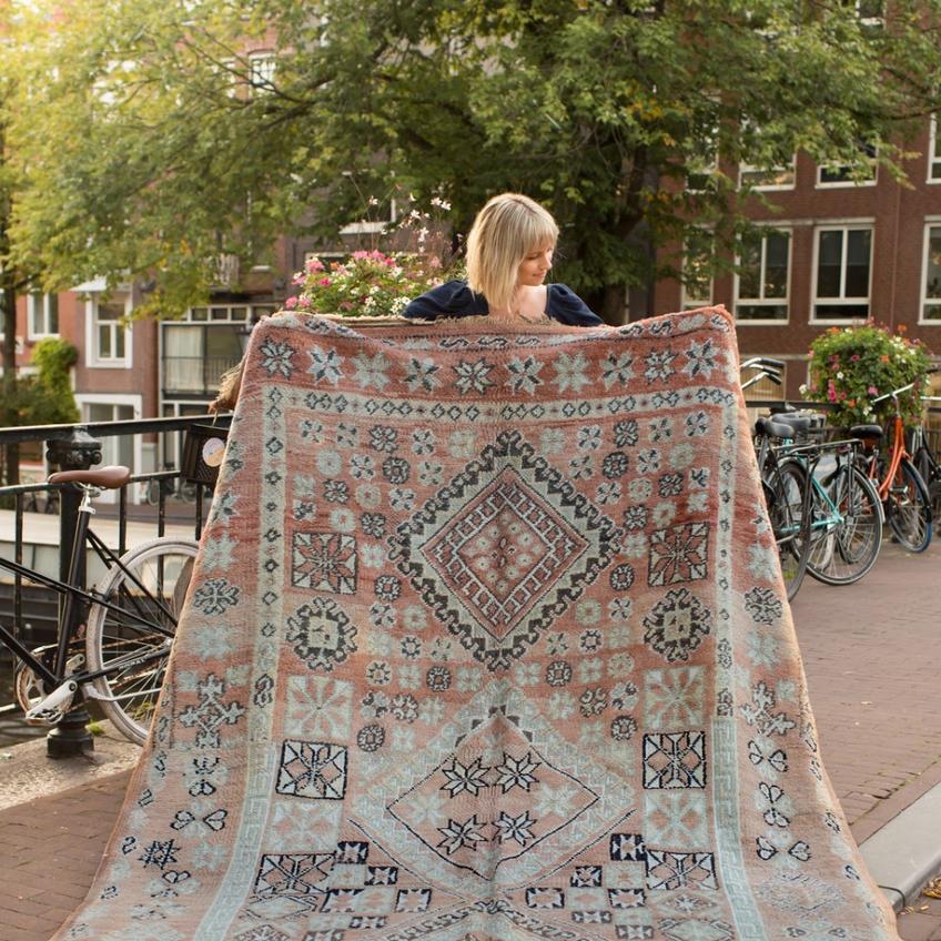 Vintage Zemmour rug