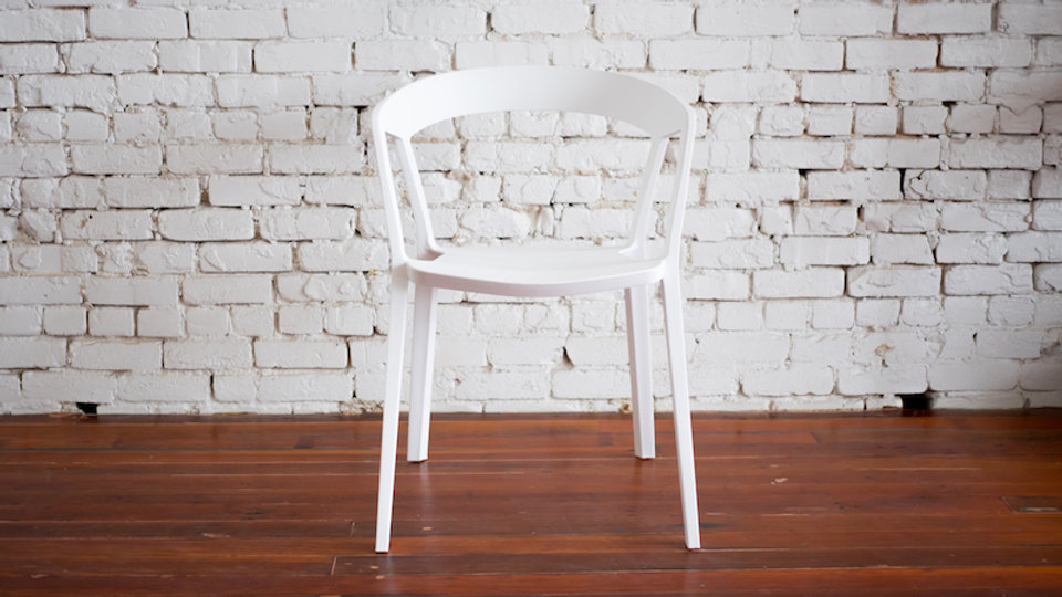 TRIBECA CHAIR WHITE | Now available at Birch and Brass