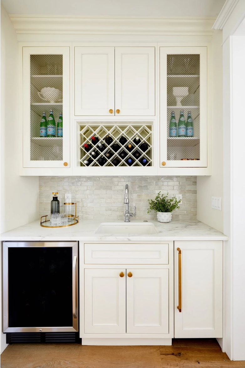 White butlers pantry project reveal by Lexi Westergard Design - Phoenix Interior Designer