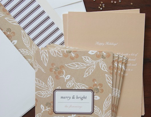 HOLIDAY CARDS FROM MINTED + A GIVEAWAY!