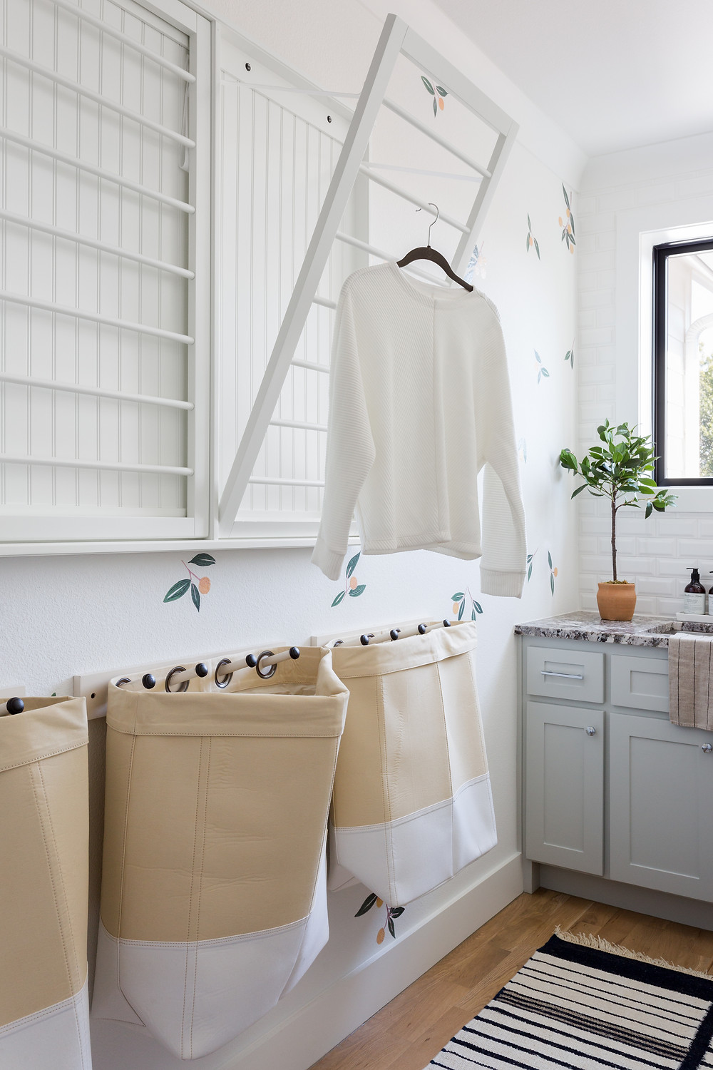 laundry room by Lindsey Brooke Design