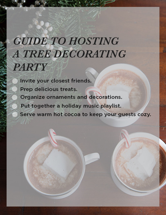 Tree Decorating Check List | Sacramento Street
