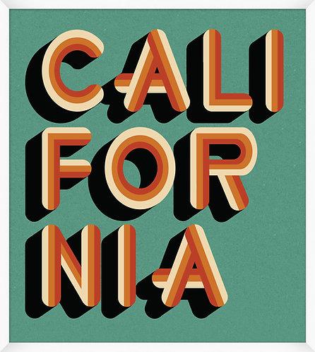 California Teal & Orange