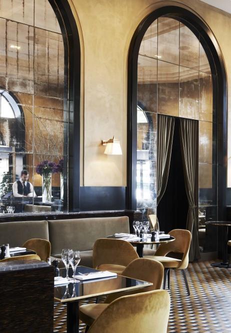 Le Flandrin, Paris, by architect Joseph Dirand