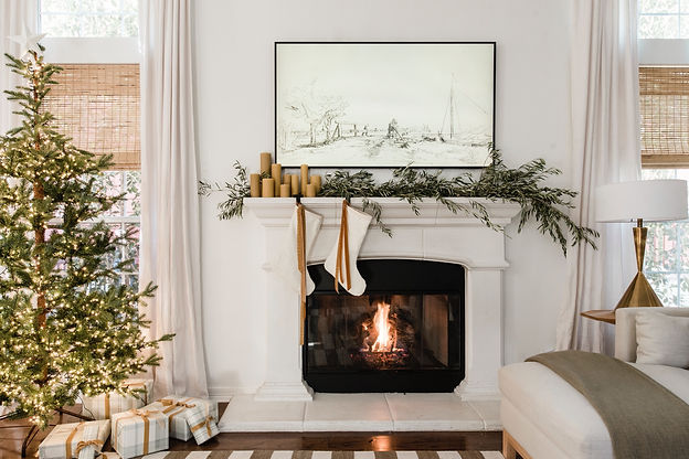 A Modern Approach to Holiday Decor + Roundup