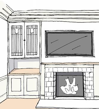 Modern, neutral interior design by Cailtin Flemming | San Francisco Interior Design Portfolio