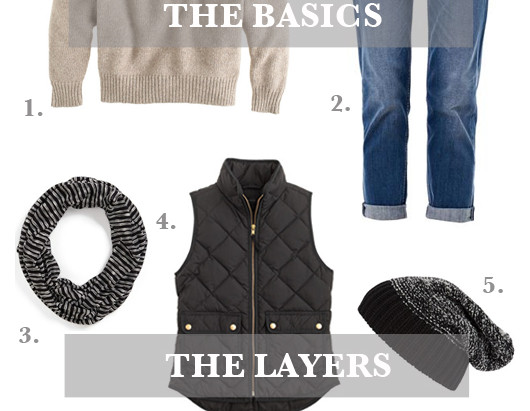 Layer It: Weekend Hike