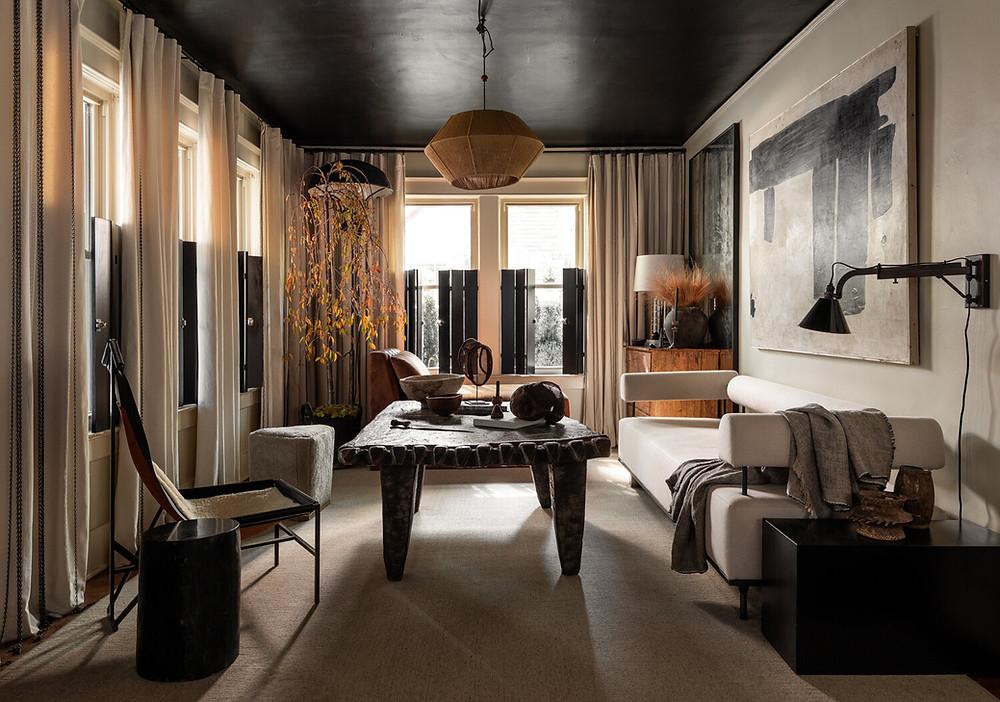 living room sofa designed by Grant Trick