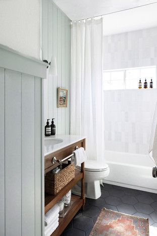 Modern English Cottage Bathroom Reveal b