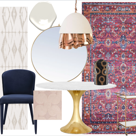One Room Challenge: Week 6, The Dining Room