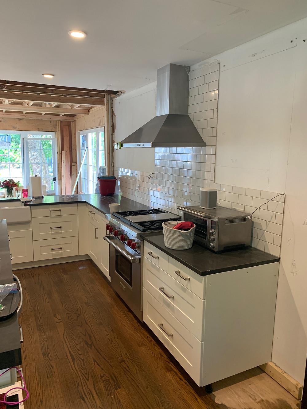 kitchen, before renovation