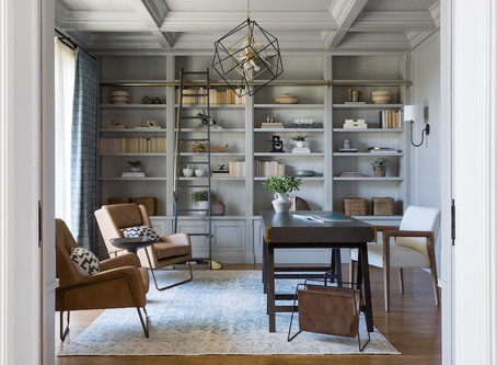Palisades Project Reveal: Living Room + Office