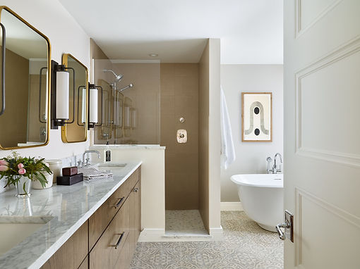 Bathroom Design by Mackenzie & Co Interior Design