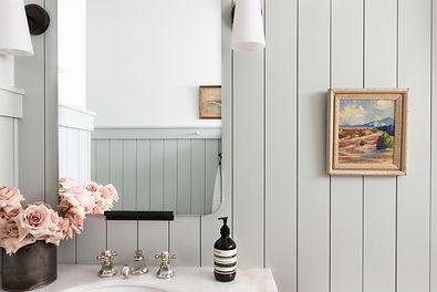 Modern English Cottage Bathroom Reveal b