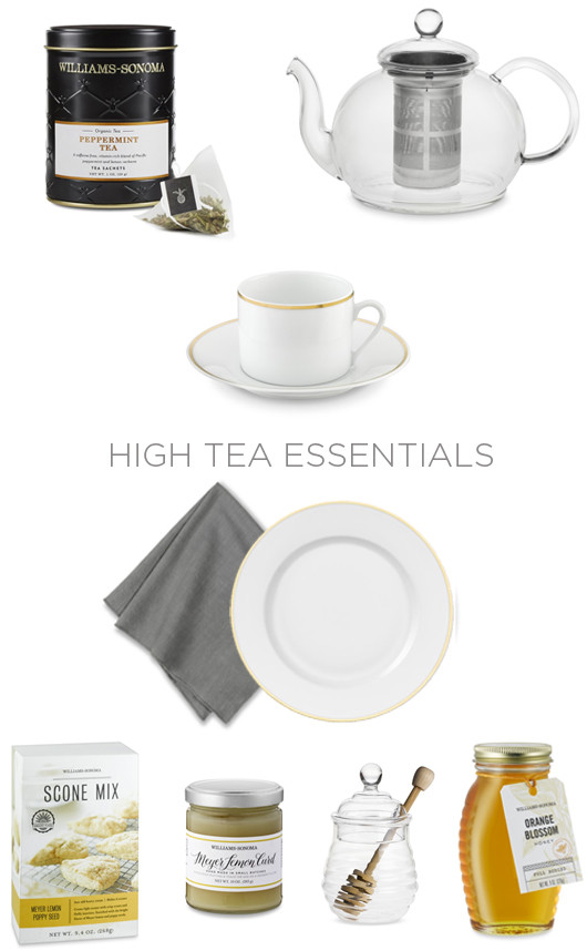 HIgh Tea Essentials with Williams Sonoma