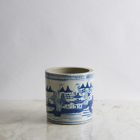 White & Blue Pottery II