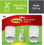 Command Spray Bottle Hangers, Holds 32 fl oz