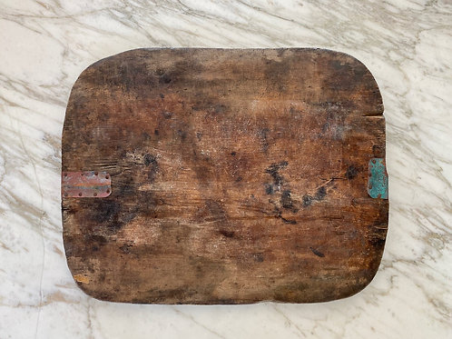 Large Old Wood Cutting Board
