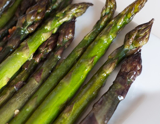 On the Menu: Roasted Asparagus with Lemon Butter Sauce