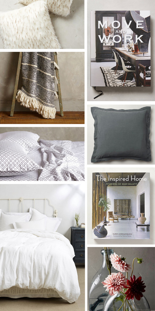 Anthropologie Layered Bed | Sacramento Street