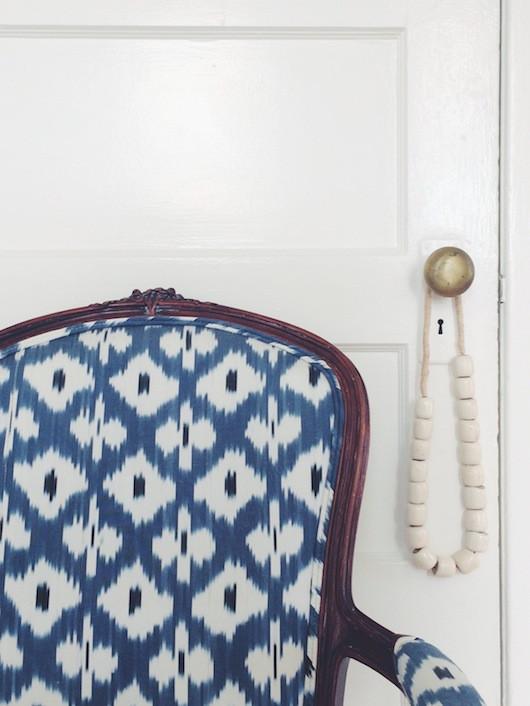 Blue Madeline Weinrib | Caitlin Flemming Design