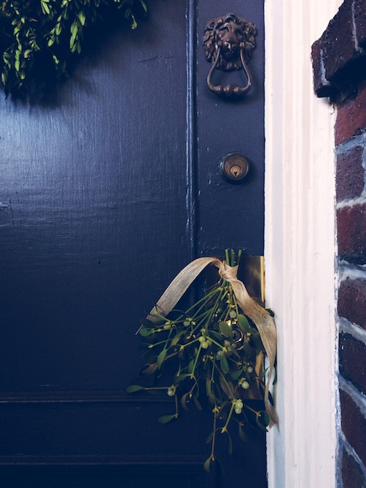 holiday door | Sacramento Street