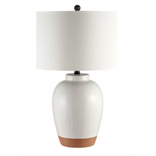 Speckled Stoneware Table Lamp.png