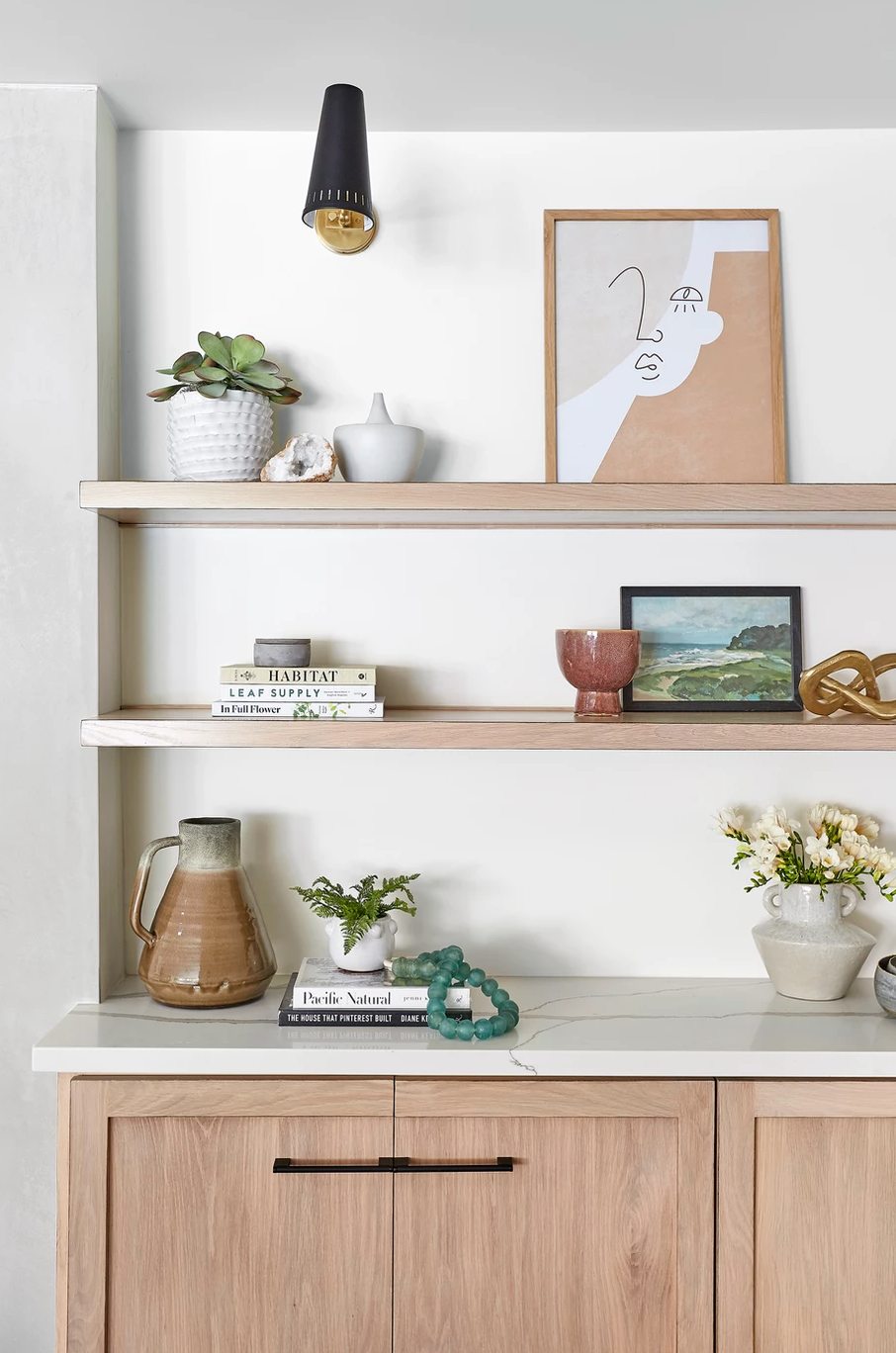 6 Creative Ways to Display Art by Lindsey Brooke Design