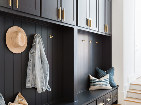 Dallas Project: Laundry, Mudroom, + Powder Room