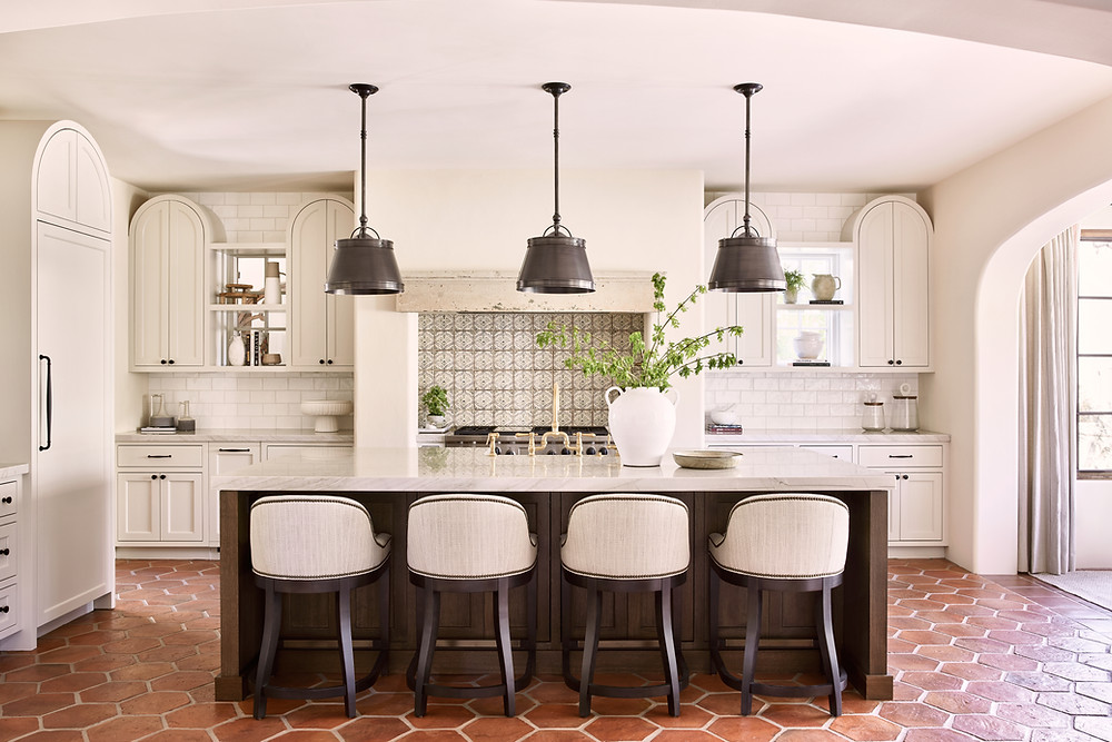 Spanish-style kitchen