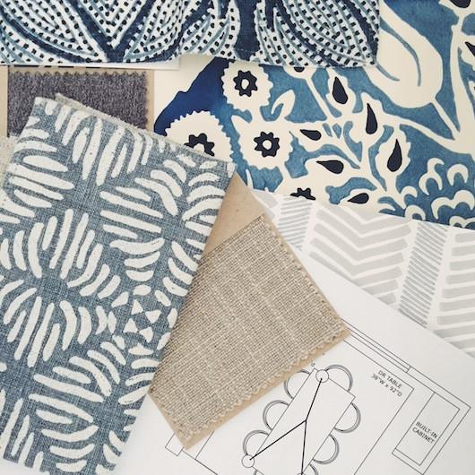 Caitlin Flemming Design Client Fabrics