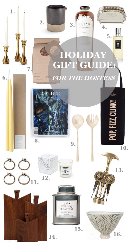 Gift Guide: For the Hostess | Sacramento Street