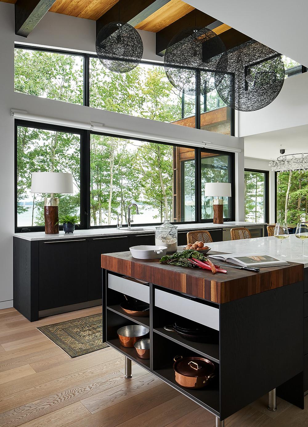 modern kitchen by reDesign Home