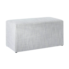 Striped ottoman coffee table bench.png