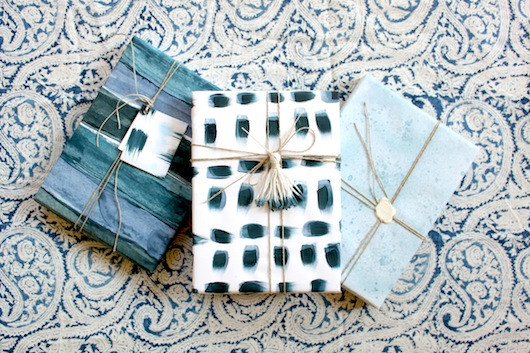 Seasonal Wrapping - Simone LeBlanc for Sacramento Street
