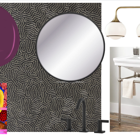 One Room Challenge: Week 7, The Powder Room + Entry