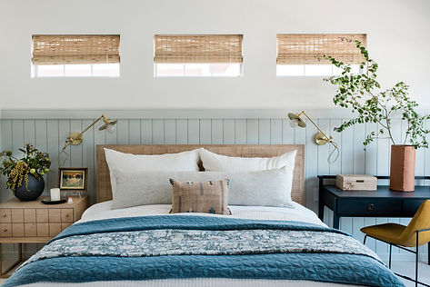 Bright and Airy Bedroom Design by The Id