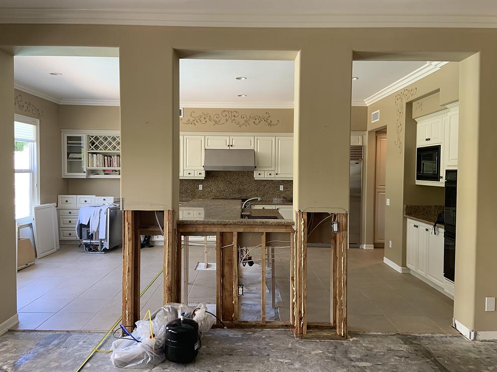 kitchen, before