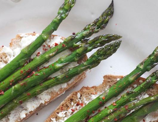 On the Menu: Asparagus Toast