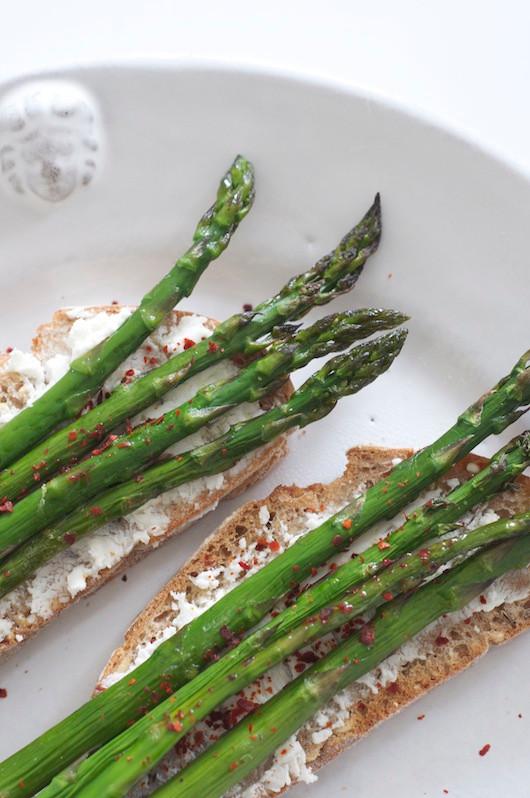 On the Menu – Asparagus Toast | Sacramento Street