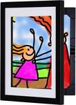 Li'l Davinci 8.5x11 Kids Art Frame, Front-Opening